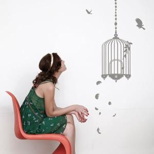 white-cage