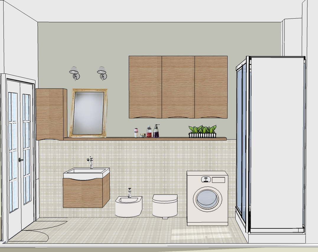 Nuovo look al bagno mayday casa blog e progetti - Progetto bagno 2 mq ...