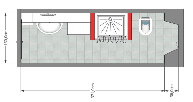 Nuovo look al bagno mayday casa blog e progetti - Pianta bagno piccolo ...