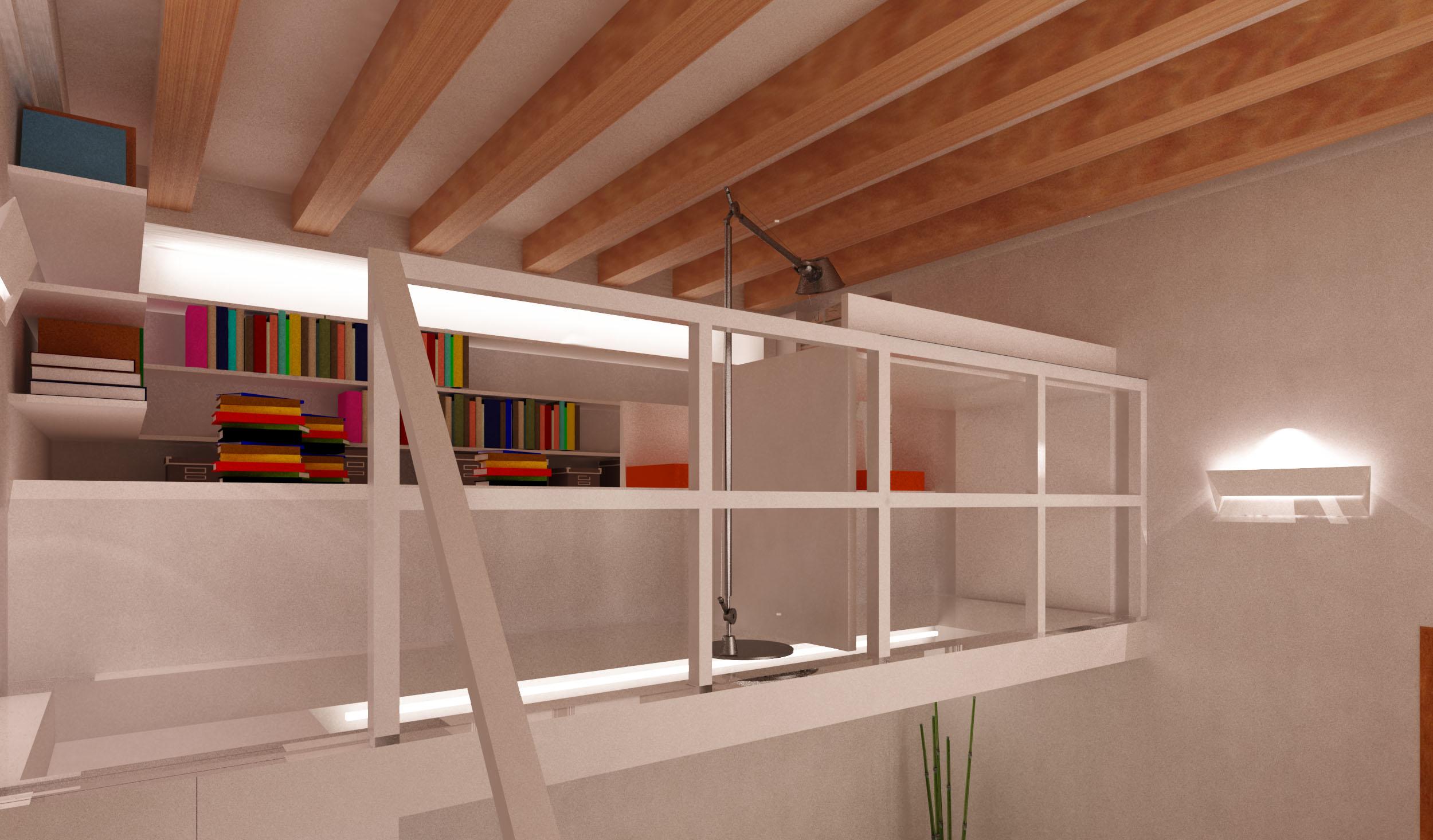 Una zona studio verticale mayday casa blog e progetti for Case con verande tutt attorno