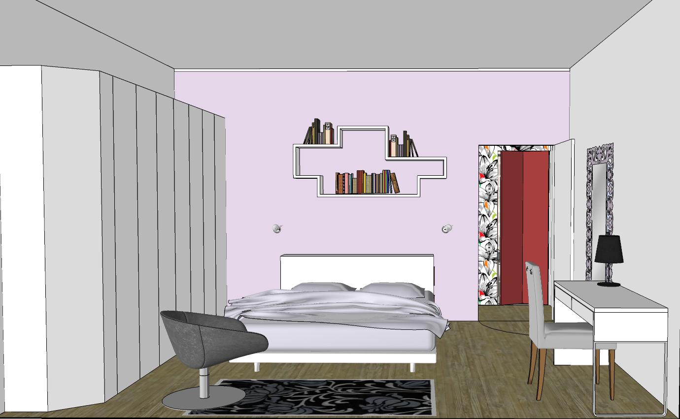 Un progetto per cambiare senza stravolgere mayday casa - Progetto camera da letto ...