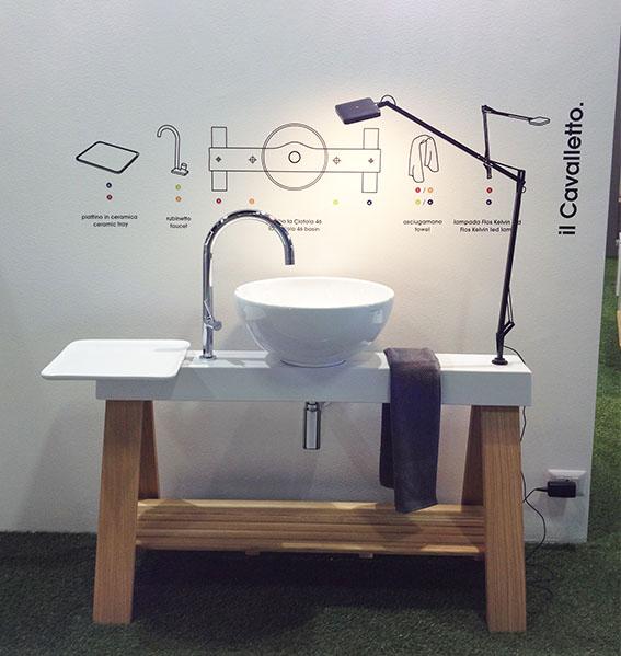 """Artceram_ """"Cavalletto"""" progettato da MeneghelloPaolelli http://www.meneghellopaolelli.com/news/item/adi-design-index/"""