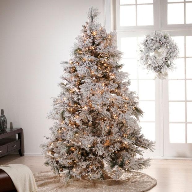 Albero Di Natale Bianco.Albero Di Natale Bianco Mayday Casa Blog E Progetti