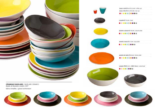 una tavola coloratissima e informale quella proposta da Sentou