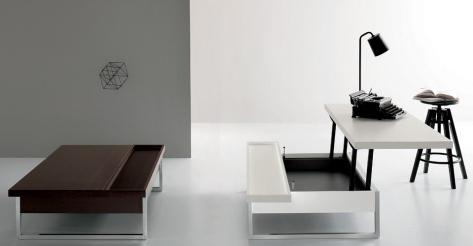 single-tavolino e scrittoio