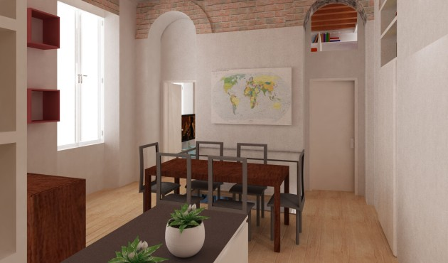 Taglia L: progetto casa con immagini fotorealistiche