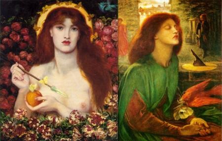 Idee per stampe d'autore: Dante Gabriel Rossetti