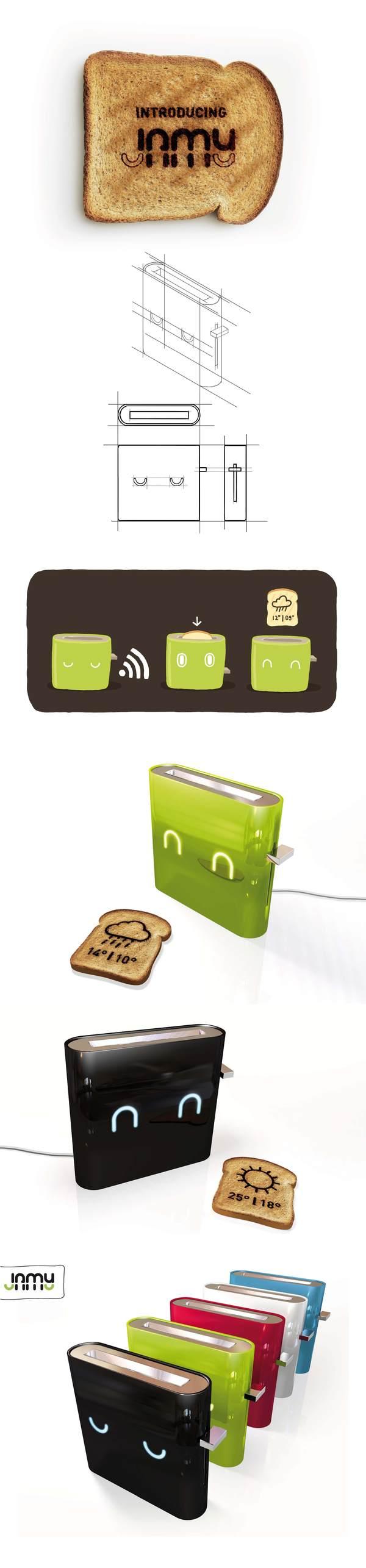 Jamy-Samrt toaster