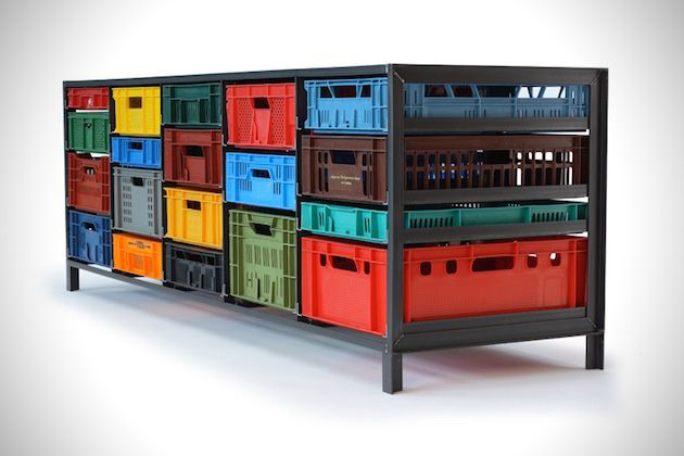 stile metropolitano la cassettiera frutto del designer MARK VAN DER GRONDEN