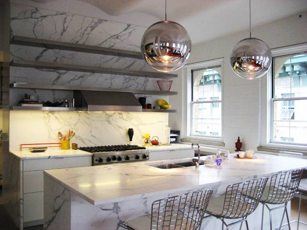 Piani top cucine in marmo reggio emilia parma mayday - Pianali per cucine ...