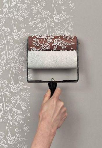 un modo per fare una parete decorata
