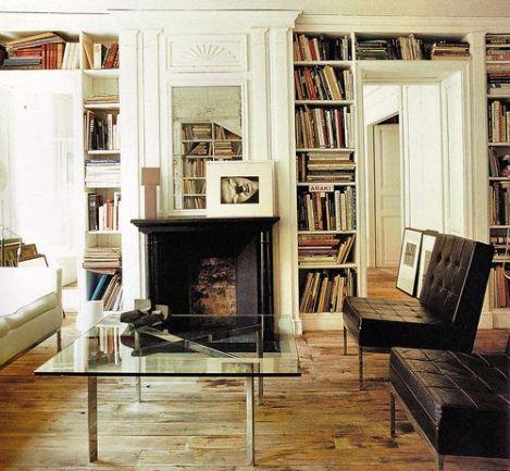 legno , pelle e libri