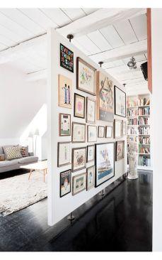 bella l'idea della parete galleria