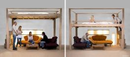 letto regolabile in altezza elettrico by Cinus