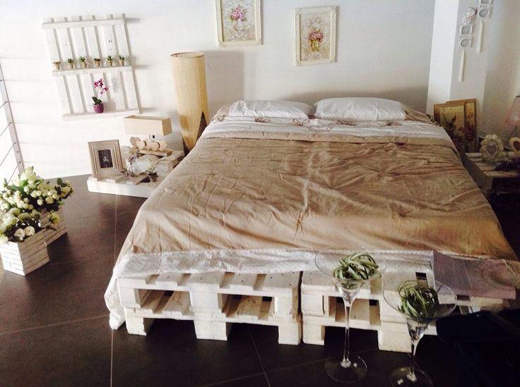 Pallet letto mayday casa blog e progetti - Letto singolo pallet ...