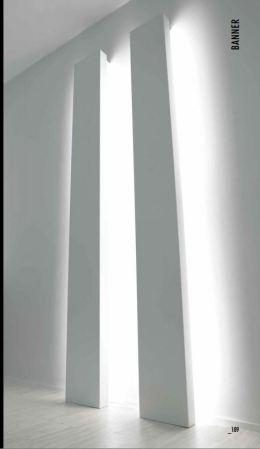 Lampada da inserire all'ingresso su parete curva: Banner by Davide Groppi