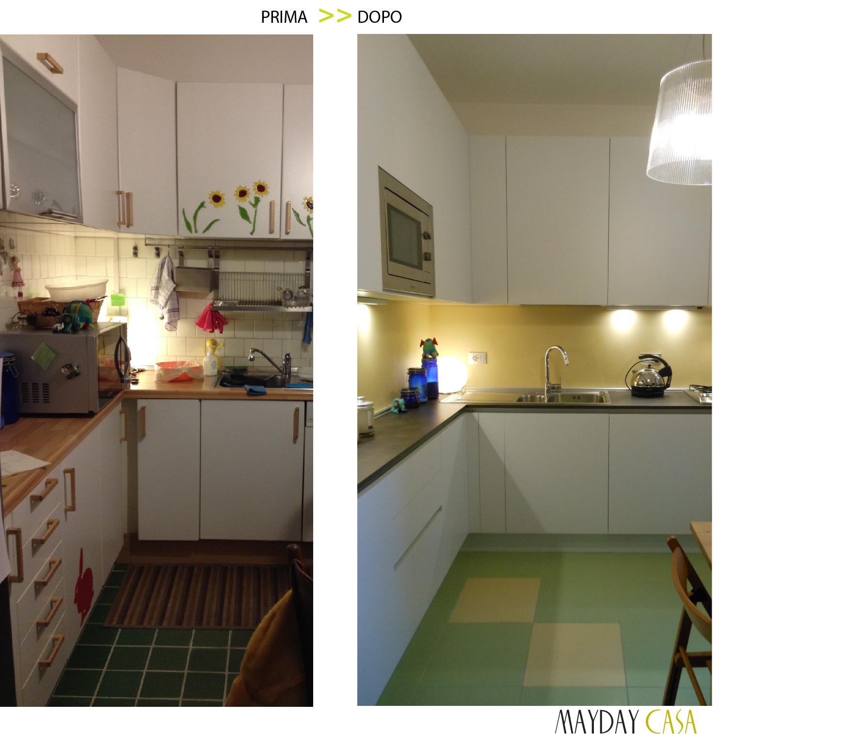 Cucina moderna separata : Un progetto cucina: cucina a vista e soggiorno insieme progetto in