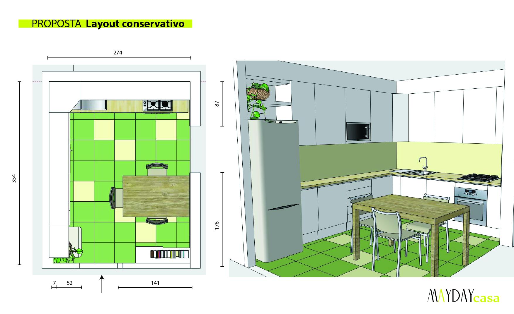 Restyling cucina prima e dopo mayday casa blog e progetti for Piccoli piani di case quadrate