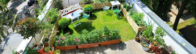 Idee per piccoli e grandi terrazzi mayday casa blog e for Piccoli giardini fioriti