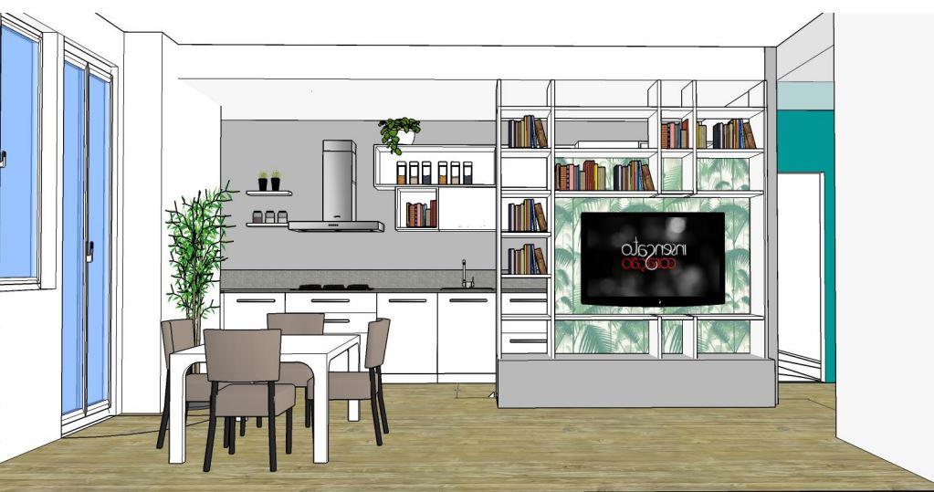 Parete Divisoria Libreria : Libreria parete divisoria mayday casa e progetti
