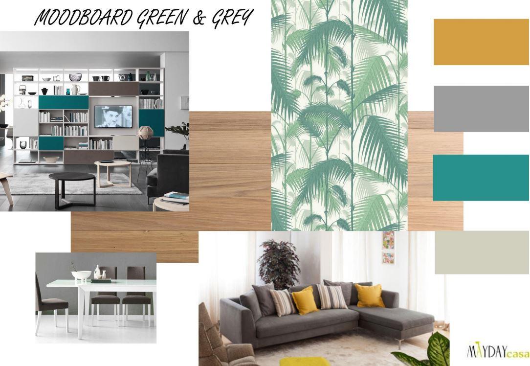 Grigio e verde per un effetto deciso ed elegante green for Ottanio colore wikipedia