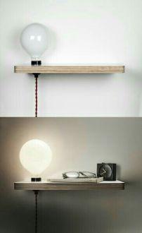 mensola-con-lampada